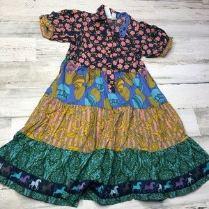 Matilda Jane dress size 8 paint by numbers horses